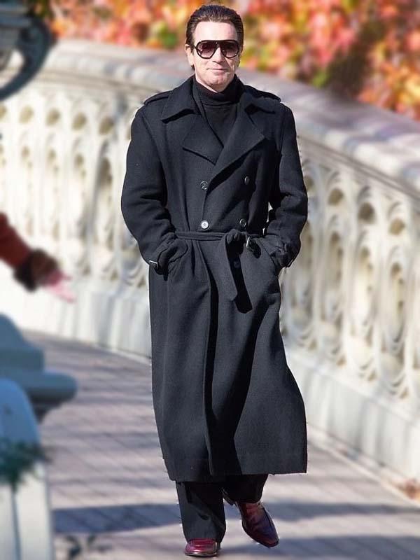 Ewan McGregor Halston 2021 Wool Coat