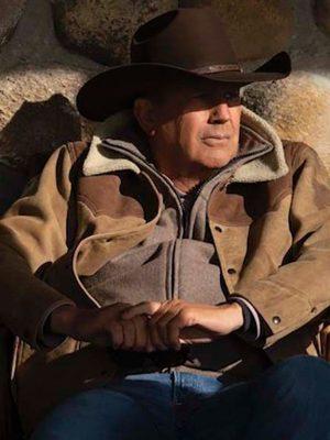 Kevin Costner Leather Jacket