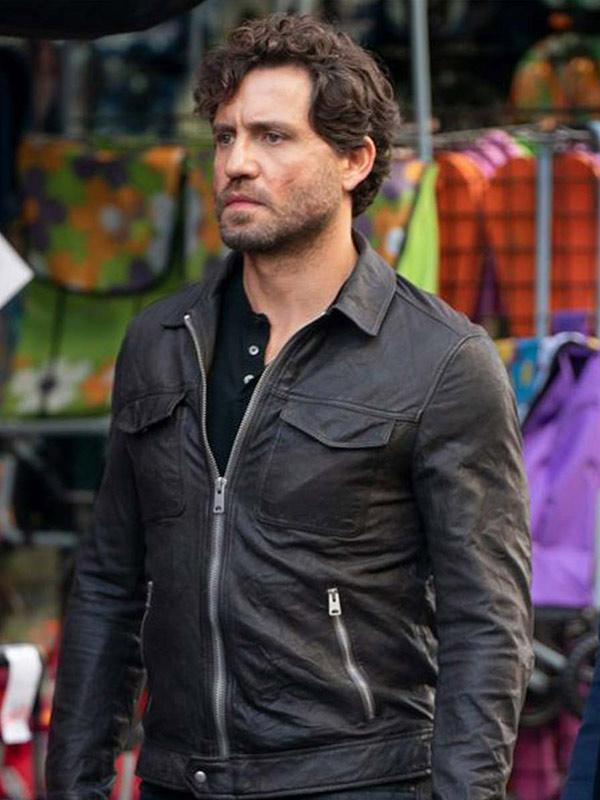 Edgar Ramírez Leather Jacket