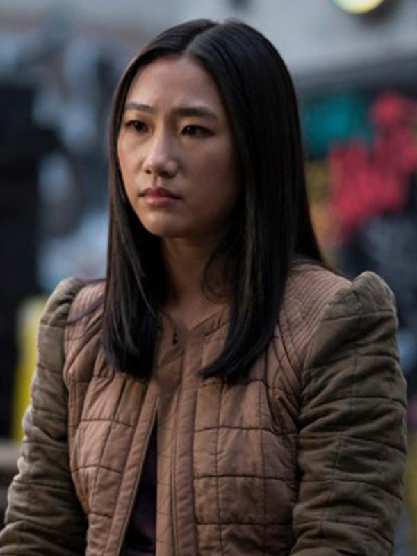 Kung Fu Olivia Liang Brown Jacket