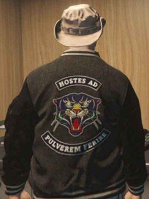 GTA 6 Panther Varsity Jacket