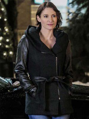 Alex Danvers Black Hooded Jacket