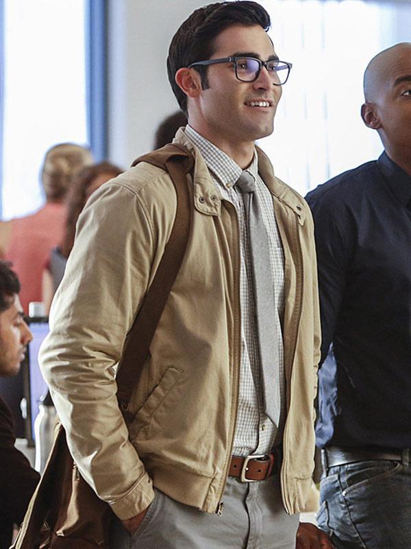 Tyler Hoechlin Cotton Jacket