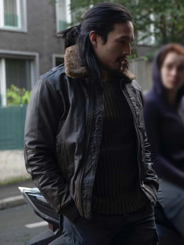 The Falcon and the Winter Soldier Dovich Shearling Jacket
