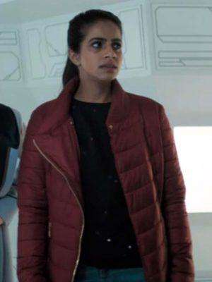 Doctor Who Yasmin Khan Puffer Jacket