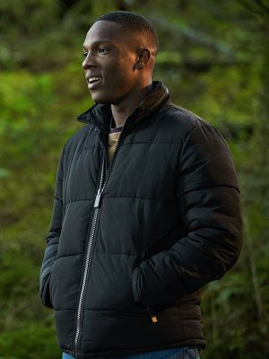 Ryan Sinclair Doctor Who Tosin Cole Black Jacket