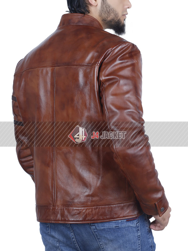 Dominic Toretto Fast and Furious Vin Diesel Leather Jacket