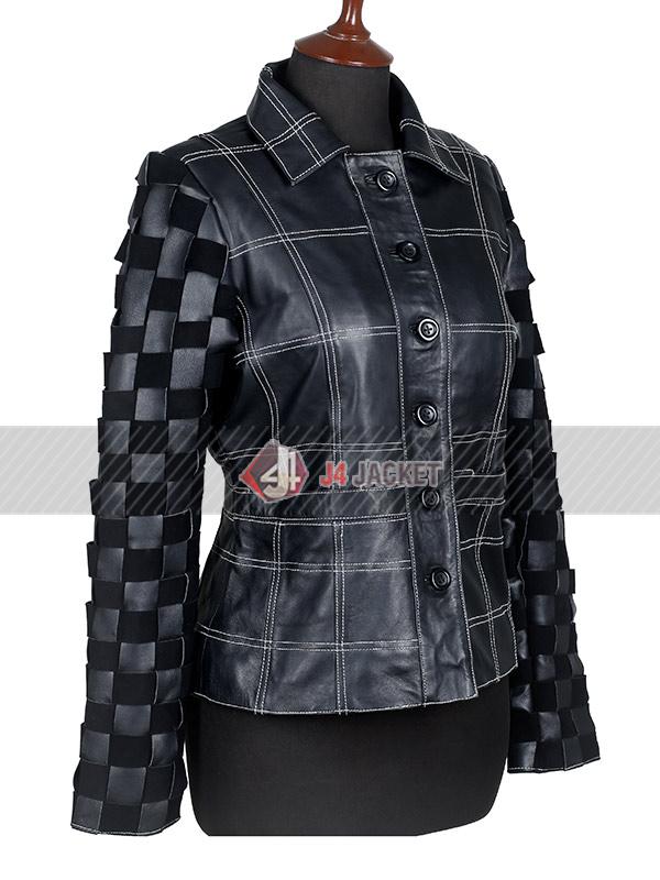 Cruella Movie Emma Stone Black Jacket