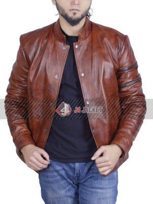 Fast & Furious Vin Diesel Brown Leather Jacket