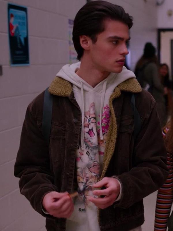 Ginny & Georgia Felix Mallard Brown Jacket