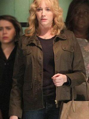 Beth Boland Good Girls Brown Cotton Jacket