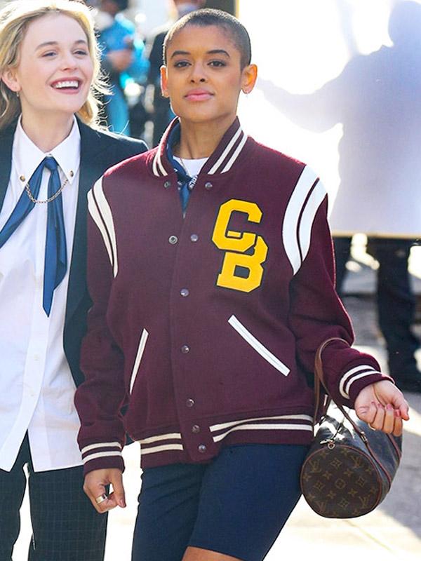 Jordan Alexander Gossip Girl Varsity Jacket