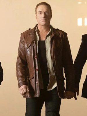 Van Damme Brown Leather Jacket