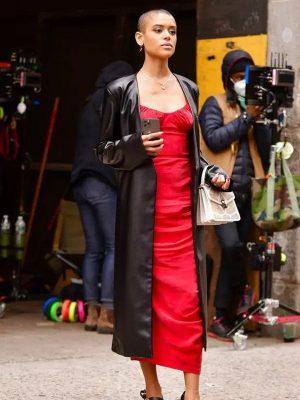 Jordan Alexander Gossip Girl Trench Coat