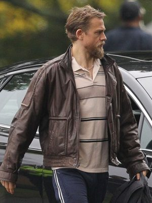 Charlie Hunnam Leather Jacket
