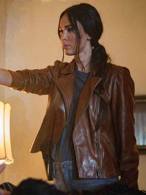 Midnight in the Switchgrass Megan Fox Brown Jacket