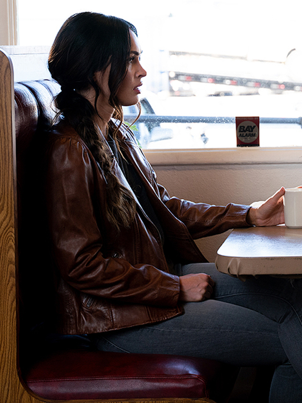 Megan Fox Midnight in the Switchgrass Leather Jacket