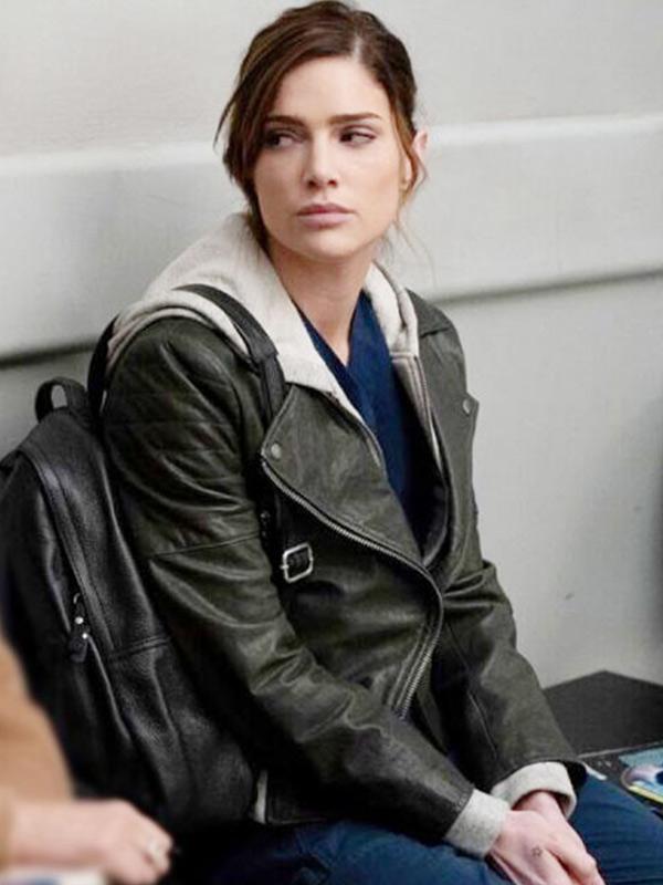 New Amsterdam Janet Montgomery Leather Jacket