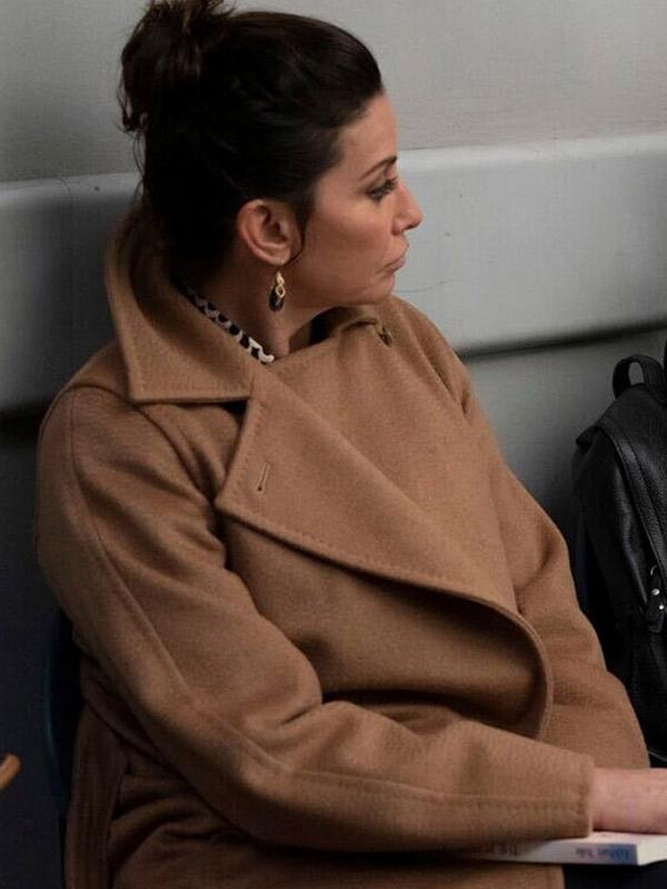 New Amsterdam Gina Gershon Trench Coat