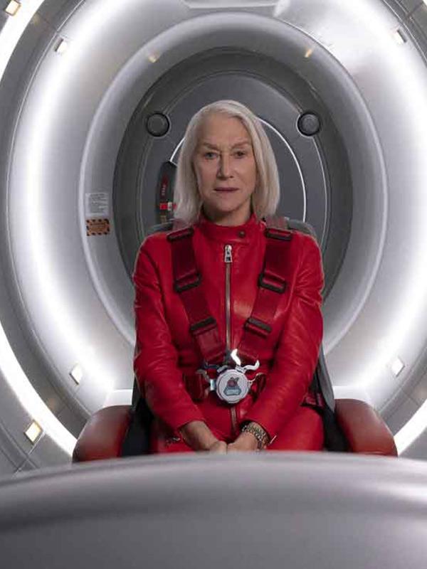 Helen Mirren Solos Red Jacket
