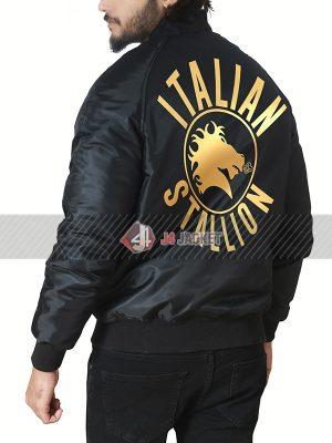 Rocky 3 Italian Stallion Bomber Jacket