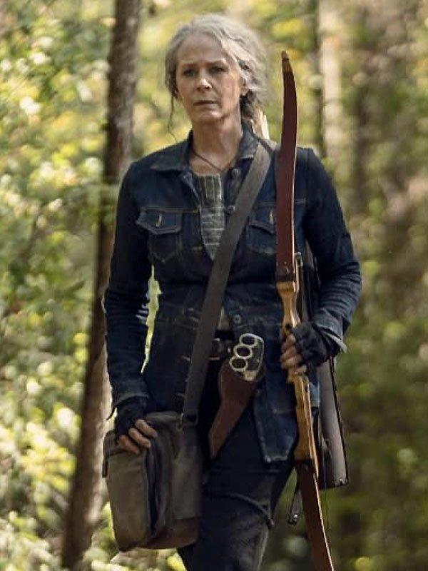 The-Walking-Dead-Season-10-Carol-Blue-Jacket