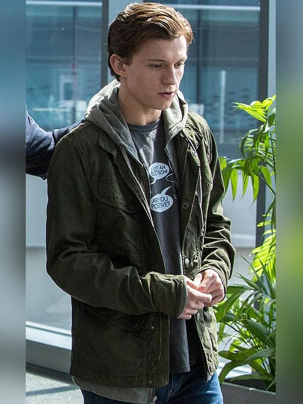 Peter Parker Spider Man Homecoming Cotton Jacket