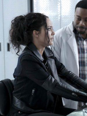 Tristin Mays Black Leather Jacket