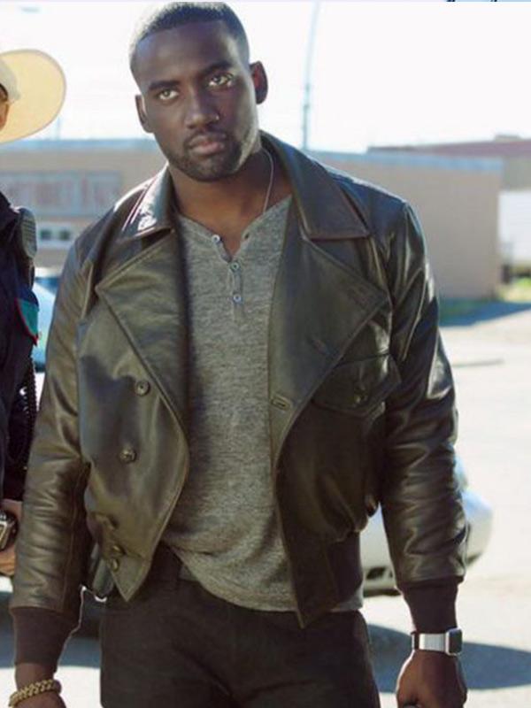 Wynonna Earp Shamier Anderson Brown Leather Jacket