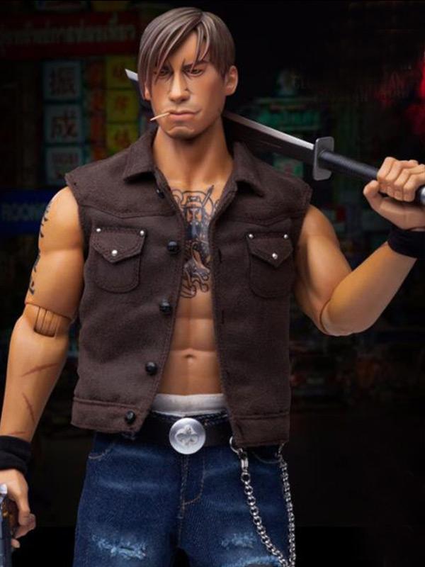Gangsters Kingdom Club 4 Yao Tian Brown Vest