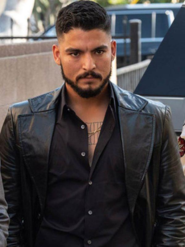 Bobby Soto Black Leather Coat