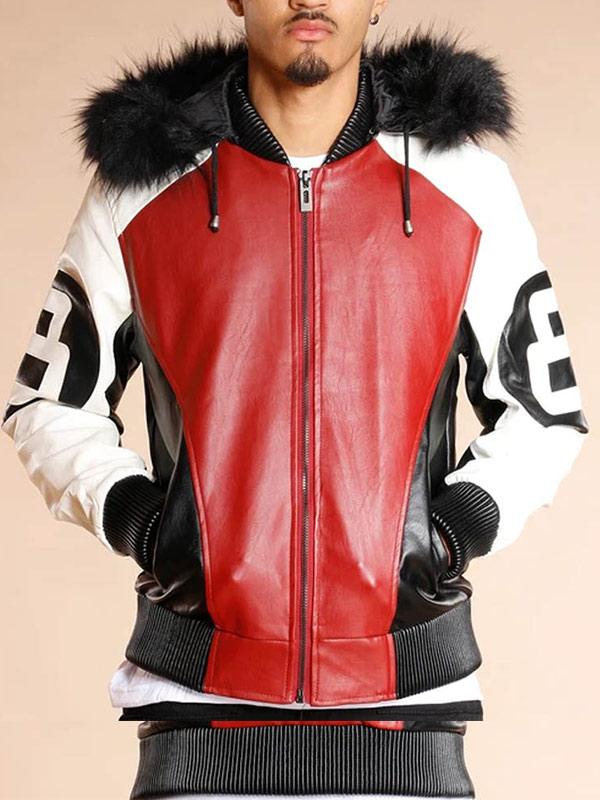 8-Ball-Logo-Bomber-Leather-Jacket