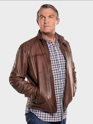 Bradley Walsh Leather Jacket