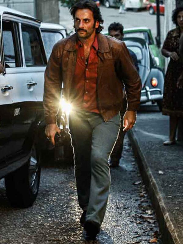 Dom Victor Dantas Leather Jacket