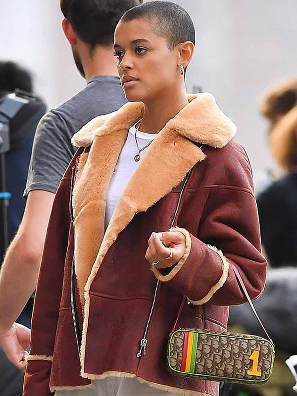 Gossip Girl Julien Calloway Brown Leather Jacket