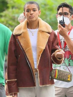 Gossip Girl Jordan Alexander Shearling Jacket