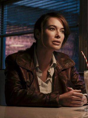 Scarlet Gunpowder Milkshake Lena Headey Jacket