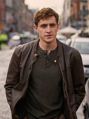 Normal People Connell Brown Leather Jacket