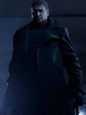 Chris Redfield Resident Evil Black Coat