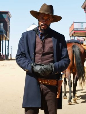 LaKeith Stanfield Blue Coat