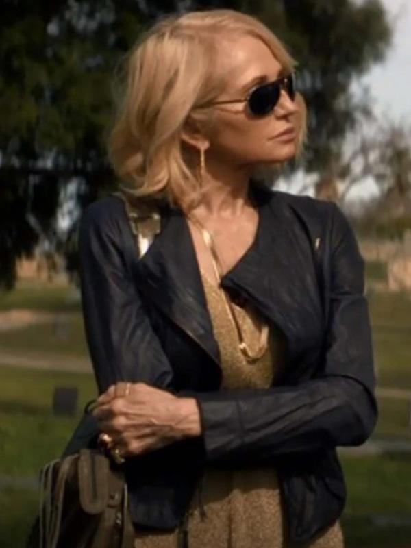 Animal Kingdom Ellen Barkin Black Jacket