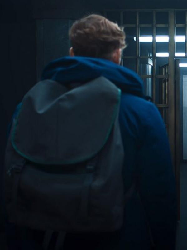 Army of Thieves Matthias Schweighöfer Blue Jacket