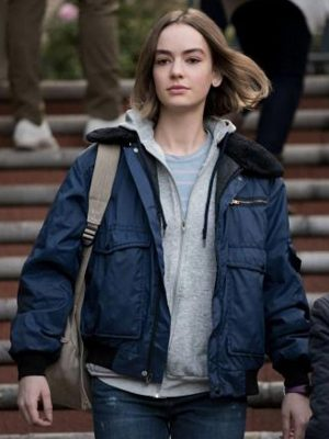 Atypical S04 Casey Gardner Shearling Jacket