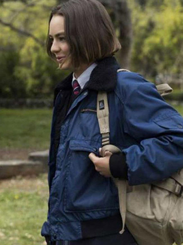 Atypical Brigette Lundy-Paine Blue Jacket