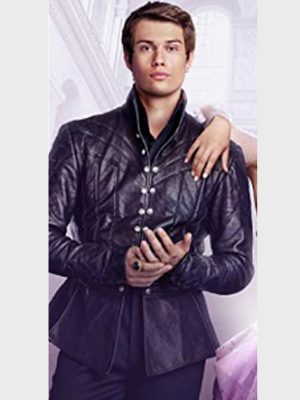 Cinderella Nicholas Galitzine Black Jacket