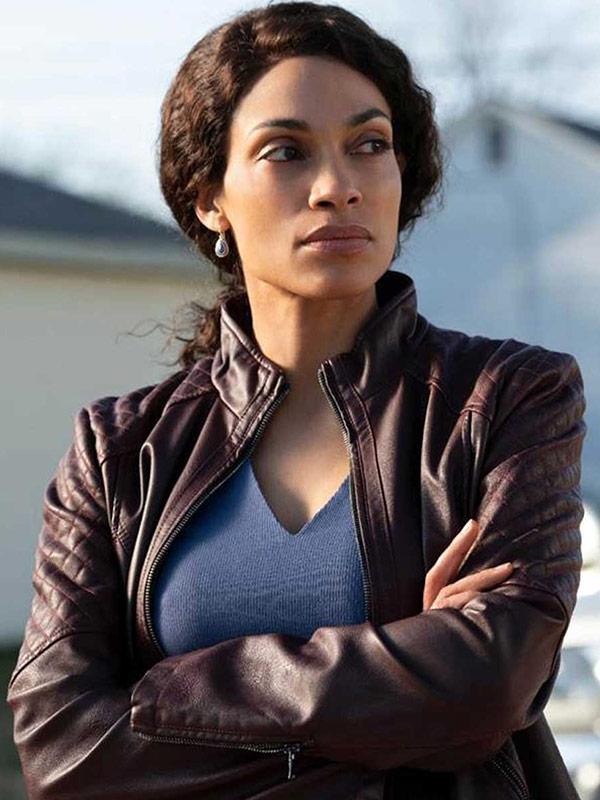 Dopesick Rosario Dawson Leather Jacket