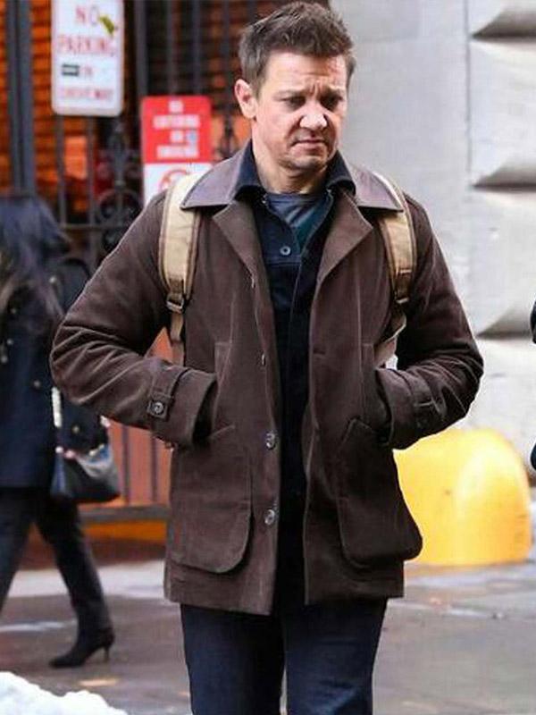 Hawkeye Jeremy Renner Brown Jacket