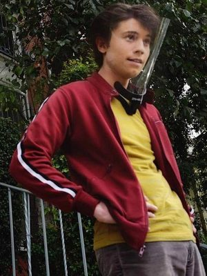 Anthony Turpel Red Jacket