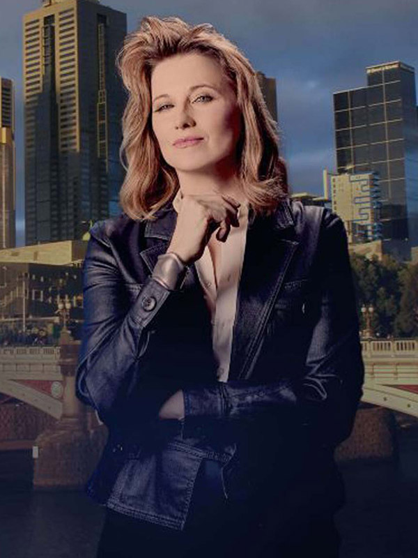 My Life Is Murder Lucy Lawless Leather Jacket