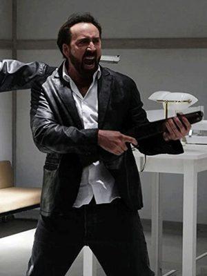 Nicolas Cage Prisoners of the Ghostland Black Blazer Jacket